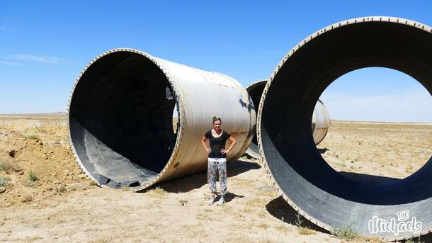 Raketenteile in Kasachstan, Baikanor