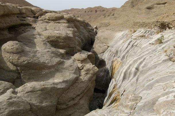 Das Wadi Al Qahfi im Sultanat Oman