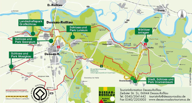 Der Wörlitzer Park oder auch Wörlitzer Garten - Travel ...