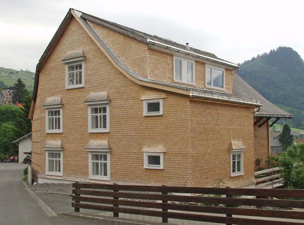 Hopf & Wirth Architekten ETH HTL SIA Winterthur: Umbau / Sanierung historisches Wohnhaus in Amden