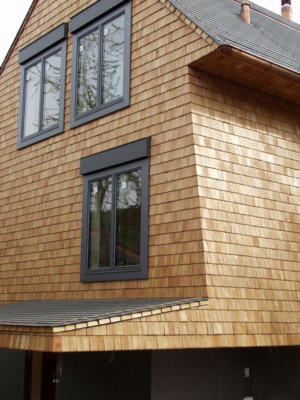 Hopf & Wirth Architekten ETH HTL SIA Winterthur: Neubau Einfamilienhaus in Boll