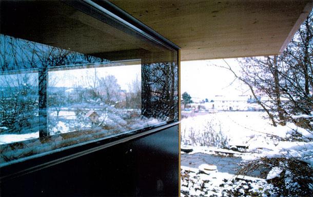 Hopf & Wirth Architekten ETH HTL SIA Winterthur: Anbau Gartenhalle in Neuhausen