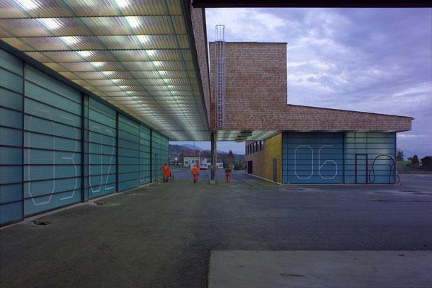 Hopf & Wirth Architekten ETH HTL SIA Winterthur: Neubau Erweiterung Werkhof Pfäffikon