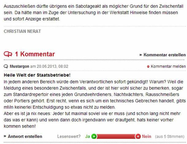 19.06.2013 Quelle: http://www.kleinezeitung.at/steiermark/liezen/3337878/knapp-katastrophe-vorbei.story;jsessionid=AEC14DDEDC0F64AE1C53BDA2AFEC4E90.p2