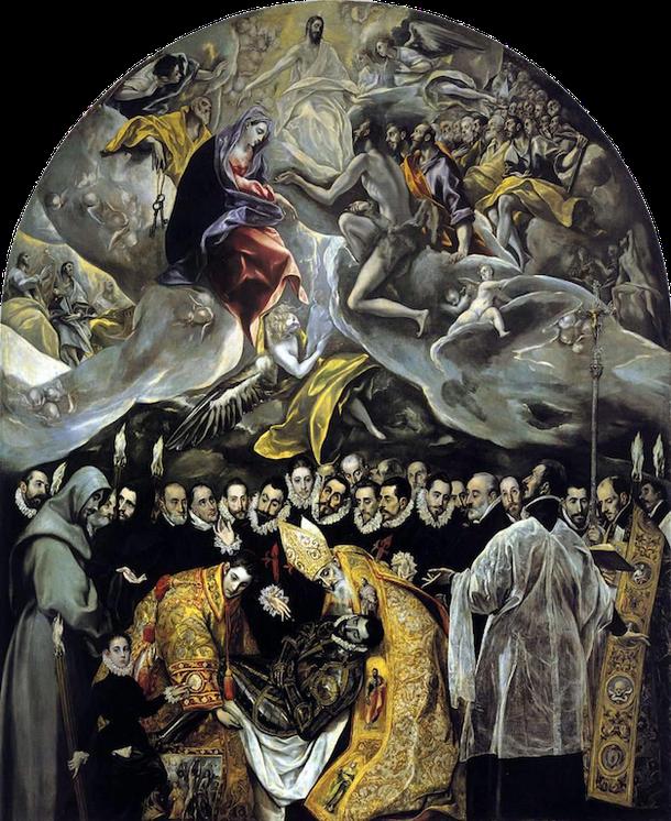 Погребение графа Oргаса, Ель Греко