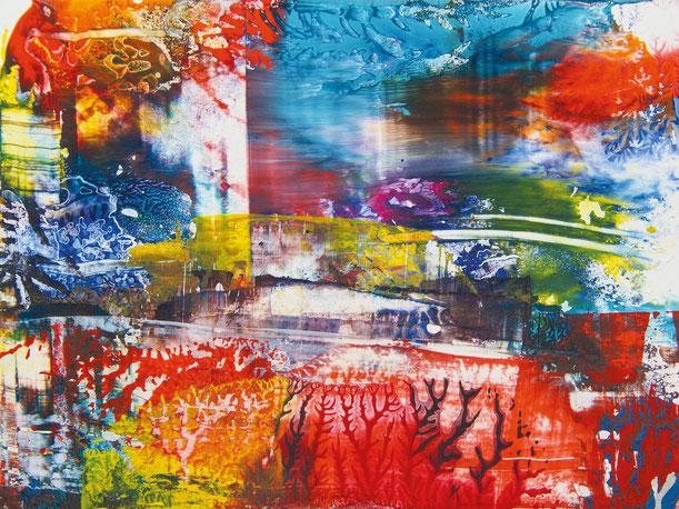 Kunstwerk WORLDS' PIECES I auf ARTS IV als Acrylglas- oder Schattenfugenrahmen-Druck bestellen