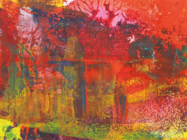 Kunstwerk WORLDS' PIECES IX auf ARTS IV als Acrylglas- oder Schattenfugenrahmen-Druck bestellen