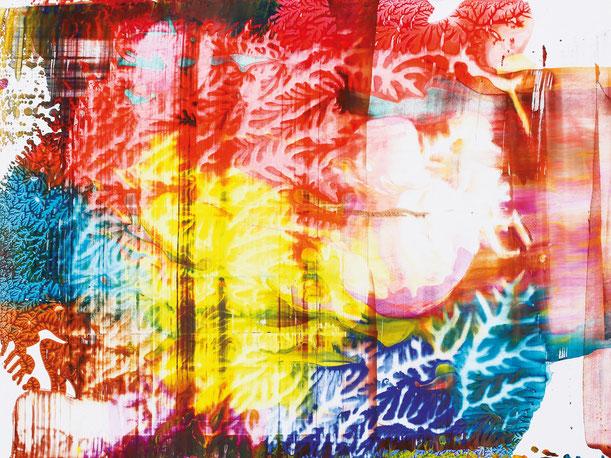 Kunstwerk WORLDS' PIECES IV auf ARTS IV als Acrylglas- oder Schattenfugenrahmen-Druck bestellen