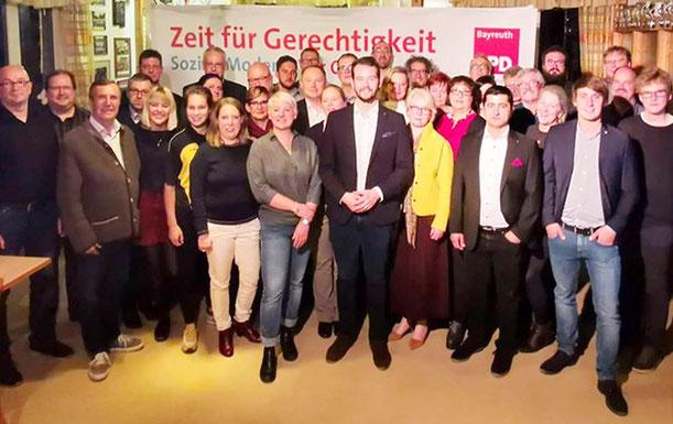 Unser Team mit dem OB-Kandidaten Andreas Zippel (Mitte)