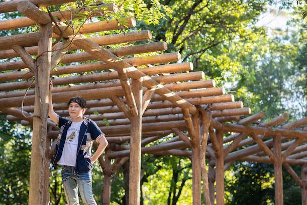 東京 練馬区 光が丘 出張撮影 出張カメラマン ロケーション撮影 秋の陽公園 プロフィール撮影