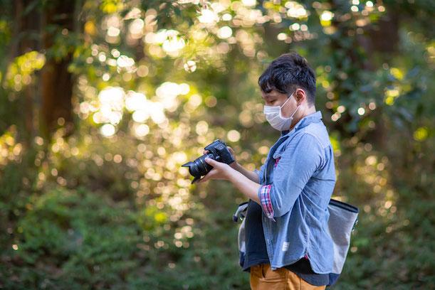 渋谷区 明治神宮 出張撮影 女性カメラマン プロフィール撮影