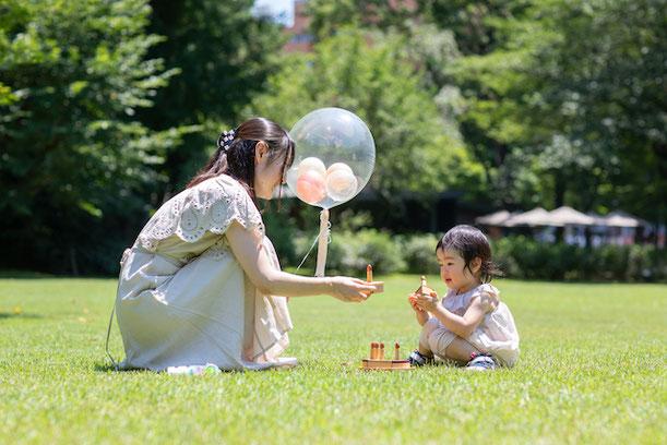 港区 東京都庭園美術館 出張撮影 カジュアルフォト 誕生日撮影