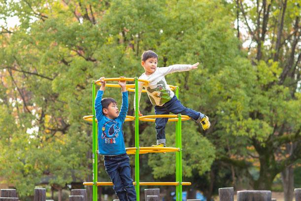 練馬区 夏の雲公園 出張撮影 家族撮影 公園フォト 女性カメラマン