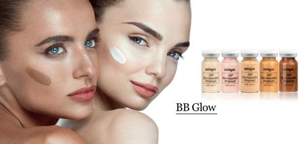 BB Glow bei Love 2b Beauty arbeitet Pflanzenextrakte in die obere Hautschicht und verleiht einen perfekten Teint