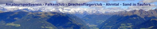 Die Zillerthaler Alpen mit Sand in Taufers