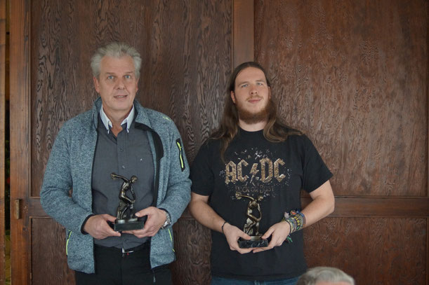 Ruben Loew und Hendrik Schaak (SSC Vellmar), der Sieger der Aktivenklasse