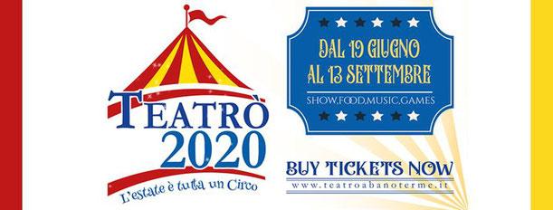 Locandina Teatrò 2020 Abano Terme