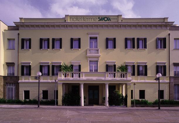 Parte storica dell'Hotel Savoia