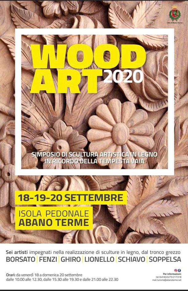 Wood Art 2020 - Abano Terme
