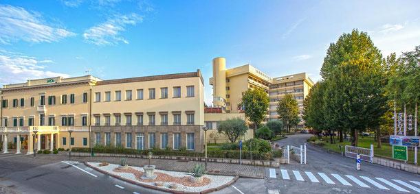Veduta dell'Hotel Savoia di Abano Terme