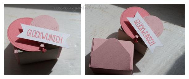 Kleine Box als Goodie verwendbar - Patricia Stich, SU 2016