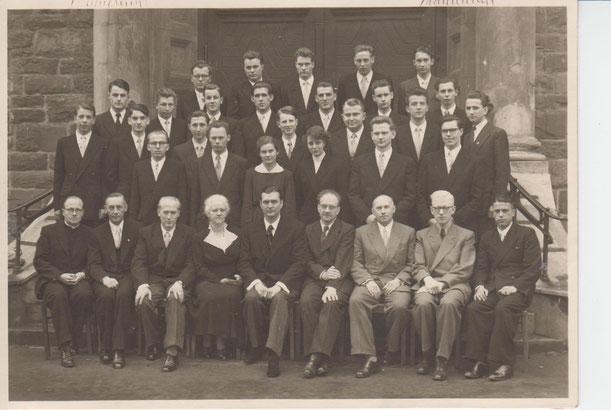 Die Attendorner Gymnasiasten 1954