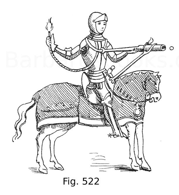 Fig. 522. Scopitus, nach Paulus Sanctius (Bibl. Richelieu). 1460. Aus Gay, Glossaire archéologique.