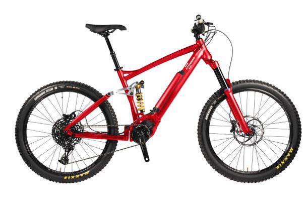 Bici-elettrica Pmzero-MTB 01 FS e-bike full suspended Pmzero E-P3