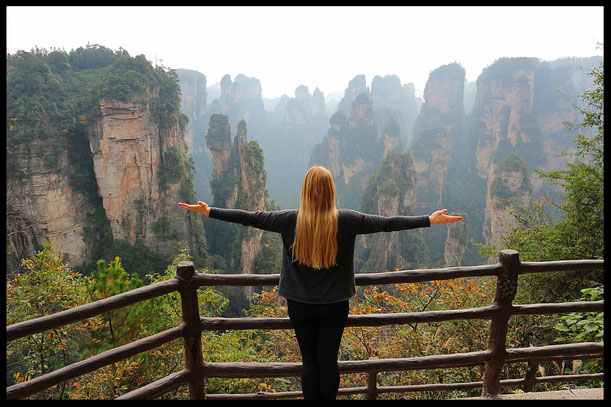 Sightseeing Zhangjiajie Nationalpark top sehenswürdigkeiten china highlights natur