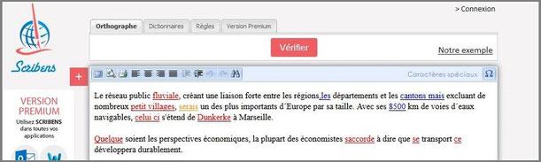 article blog marie fananas top 10 outil écriture indispensable image scribens correcteur orthographe grammaire
