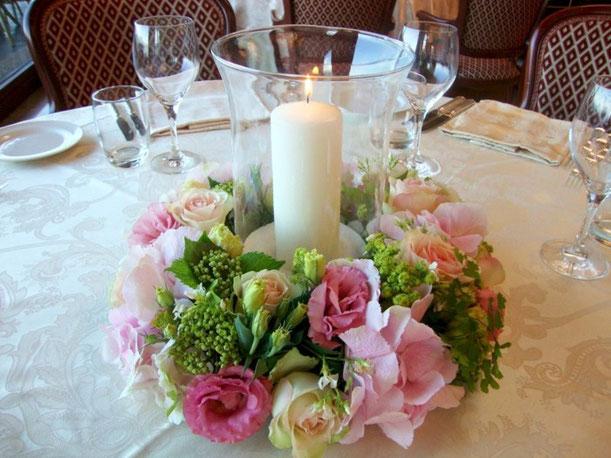 ideas de centros de mesa con flores naturales