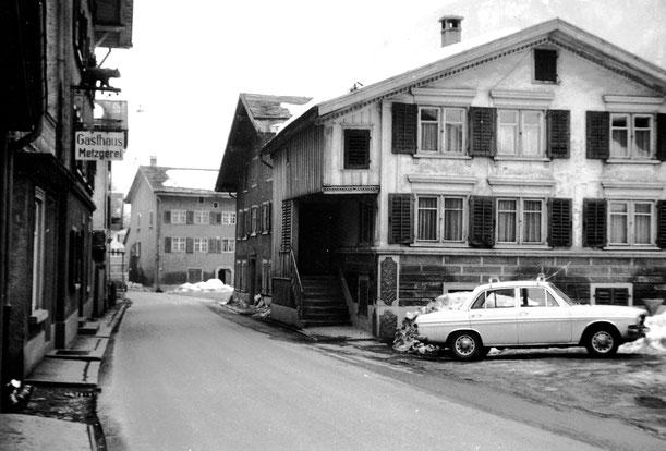 Bären und Umgebung vor 1974 Foto Jakob Kubli
