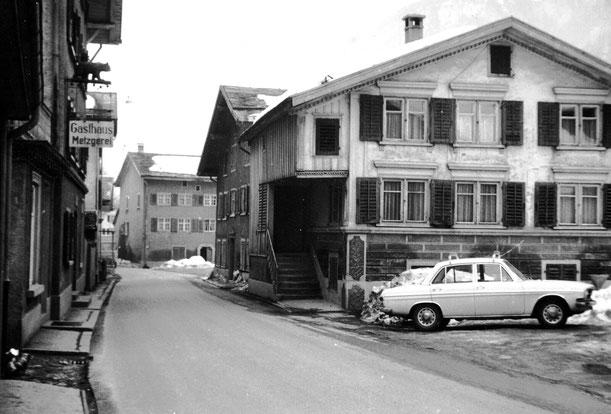 Bären und Umgebung vor 1974, Foto Jakob Kubli
