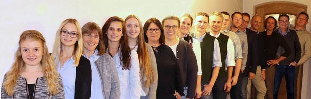 Die neuen Kandidat(inn)en der UWG für die Gemeinderatswahl am 15. März 2020 in Weyarn