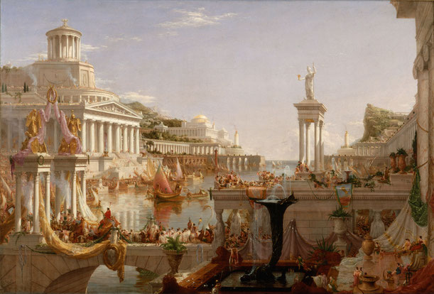 "Thomas Cole, ""La consumazione dell'Impero"" (1836)"