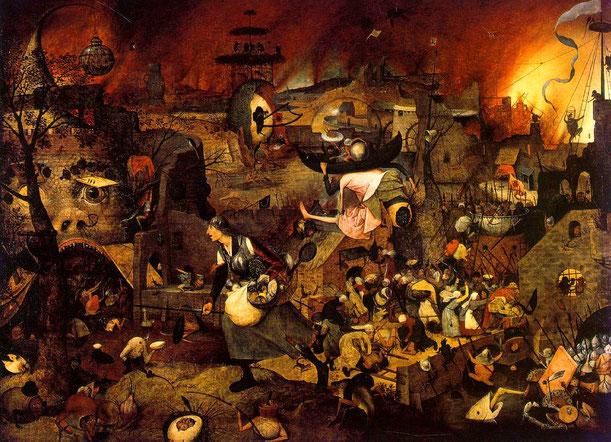 """Pieter Bruegel il Vecchio, """"Greta la pazza"""" (1562)"""