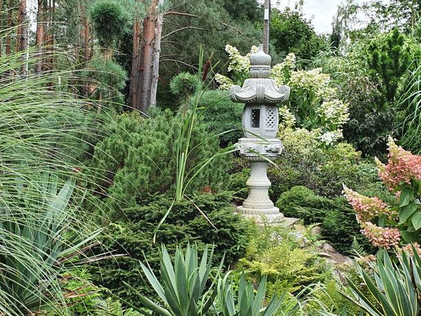 Umgestaltung, Japan-Garten.
