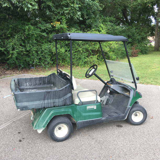 Rental cart utility bed