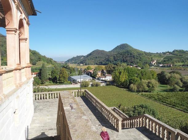 Panorama magnifico da Villa dei Vescovi