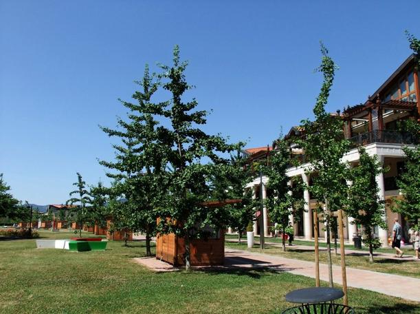 La bellezza del Parco Urbano Termale