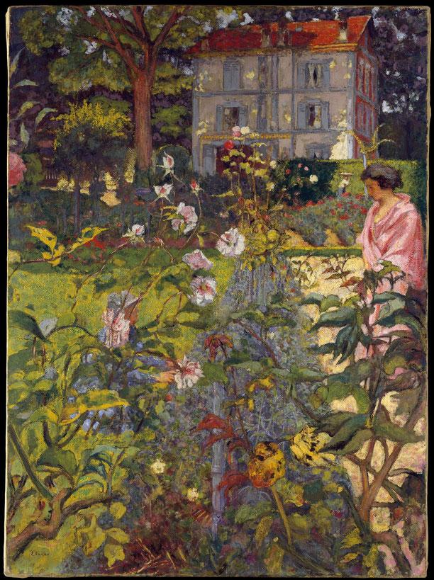 《ヴォークレソンの庭》1923年