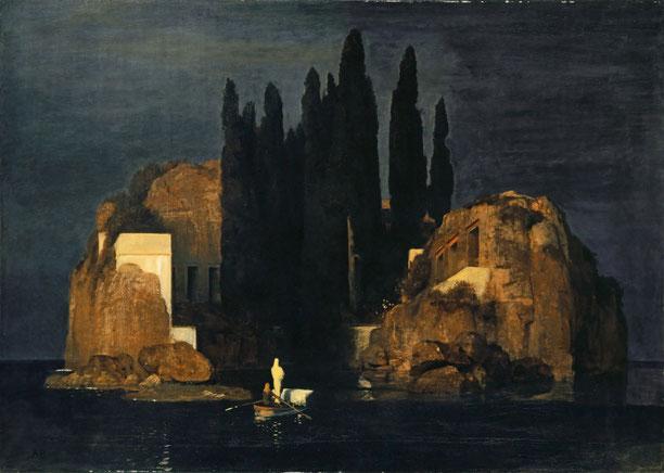 《死の島》1880年
