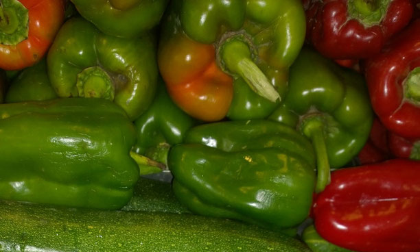 Paprika,Páprica,Gemüse,Legumes,Vegetables,Martins-Kulinarium,Carvoeiro,Algarve,Portugal