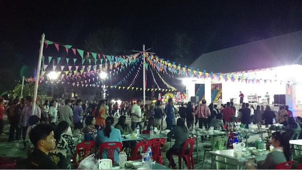 freaky travel, Zinskraft, Gastartikel, Thailand, Chiang Rai, Night Bazaar, Folklore, Tanz