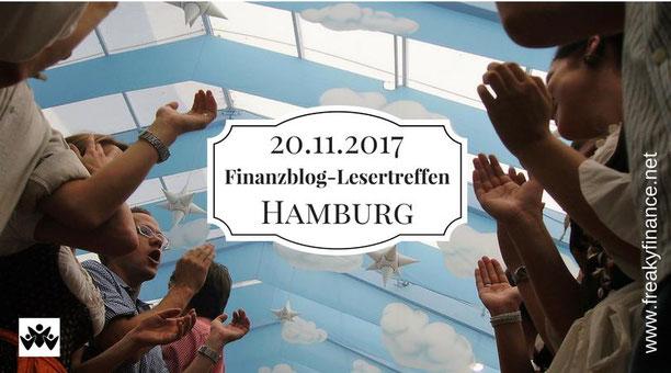 freaky finance, Finazblogleser-Treffen, Hamburg, 20.11.2017, Bierzelt, klatschende Menschen