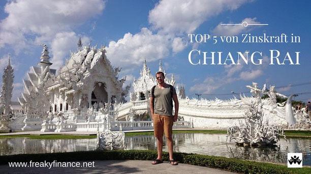 freaky finance, freaky travel, Zinskraft, Gastartikel, Thailand, Chiang Rai, Wat Rhong Khun, White Temple