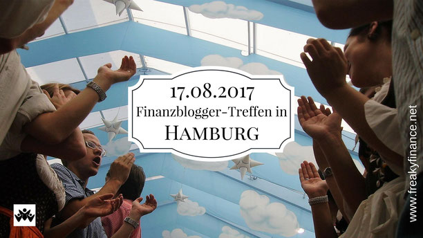 freaky finance,  der Finanzfisch, Finazblogger-Treffen, Hamburg, 17.08.2017