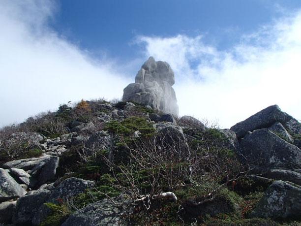 金峰山 五丈岩 登山 ガイド