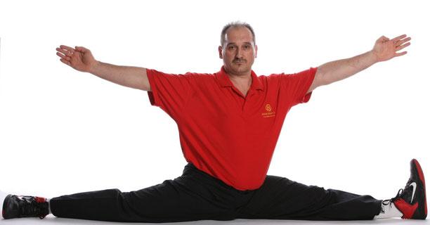 Milenko Kozlica, wing chun/ving tsun master- Schpagat