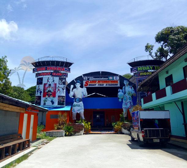 Thaiboxstadion Koh Samui - Samui International Muay Thai Satdion
